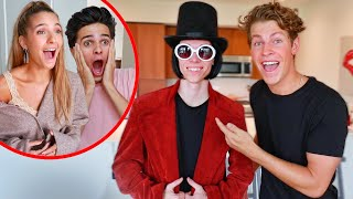 SURPRISING MY FRIENDS WITH WILLY WONKA!!