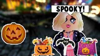 NEW HALLOWEEN EARTH, CANDY EVENT ON ROYALE HIGH! (Roblox)