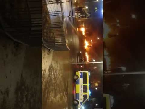 police vs Gangs Stockholm rinkeby 20170220 Trump was right (mirror)