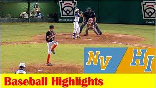 Las Vegas, NV vs Honolulu, HI Baseball Highlights, 2021 Little League West Region 8 9 2021