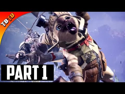 🚩 Monster Hunter World | Part 1 - Learning To Hunt! | Full Gameplay Walkthrough Part 1 [PS4 Pro]