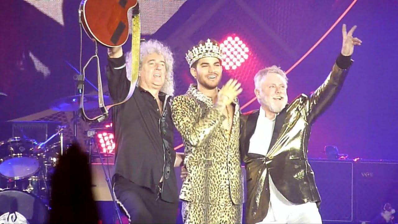 Adam Lambert Queen Tour  Uk