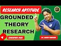 GROUNDED THEORY RESEARCH II ग्राउंडेड थियरी अभिकल्प