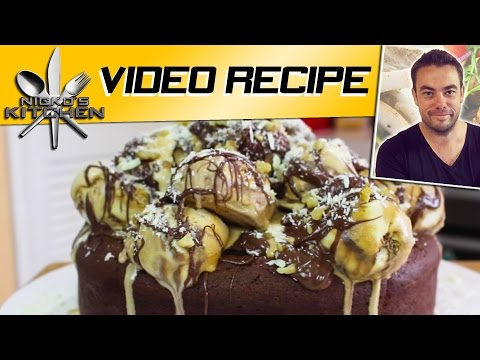 Chocolate Ice Cream Cake | Nicko's Kitchen