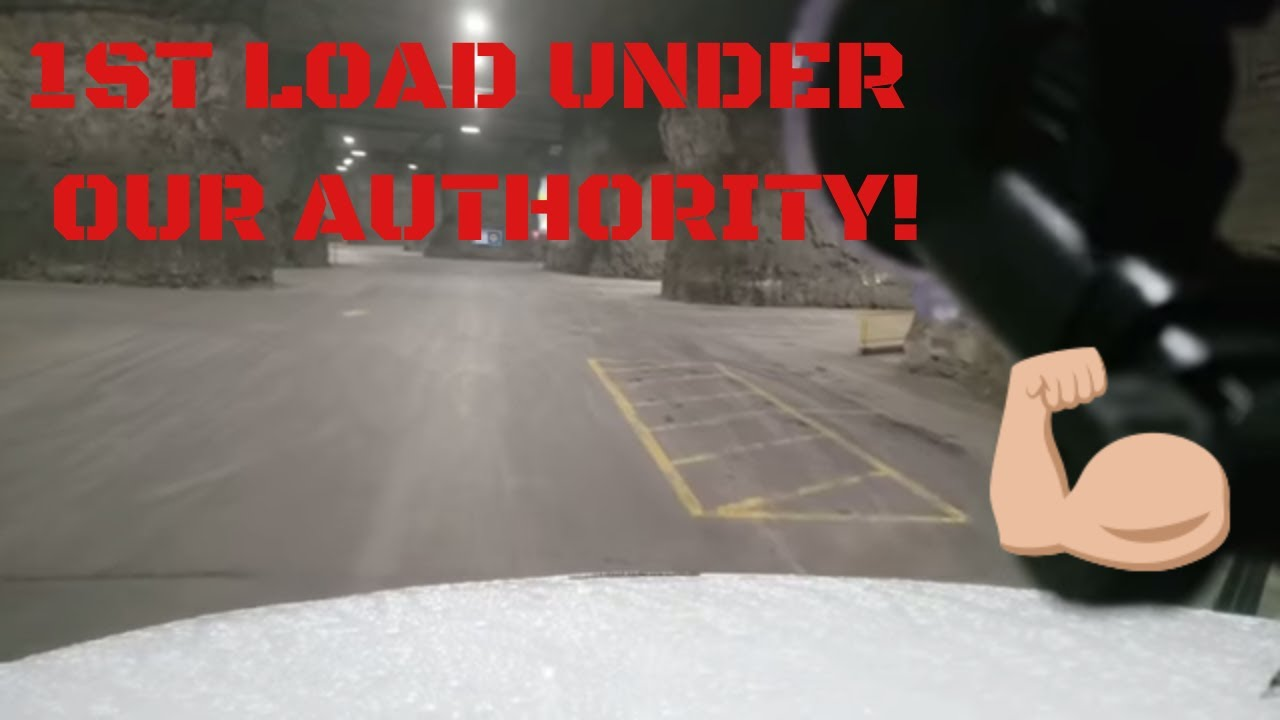 FIRST LOAD UNDER OUR TRUCKING AUTHORITY!  UNDERGROUND CAVE! WHAT DID WE HAUL !HIGHWAY DIVAS