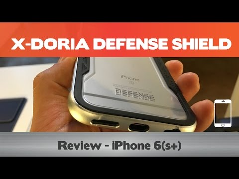 X-Doria Defense Shield - iPhone 6(s+) case review - Metal iPhone cases