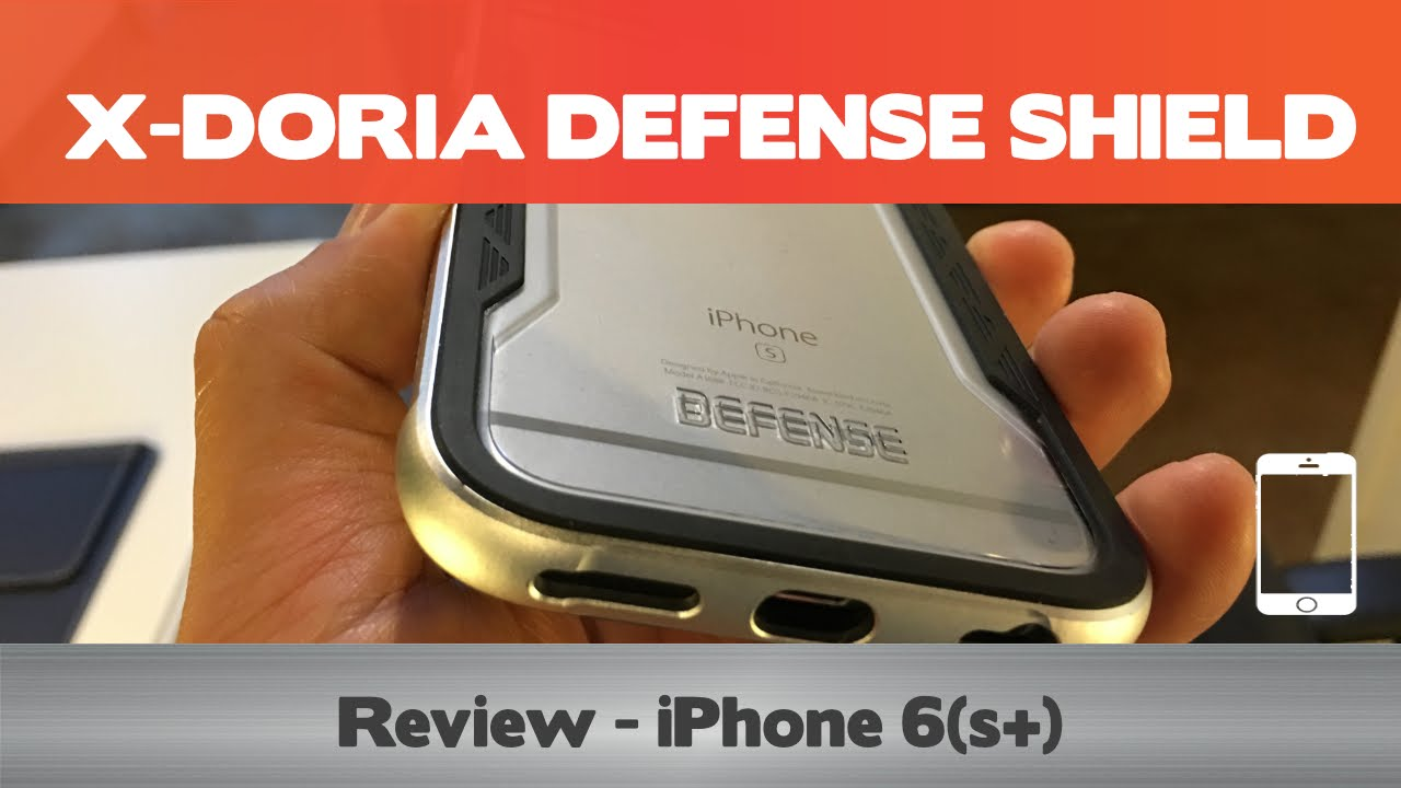 e66a25d83e7 X-Doria Defense Shield - iPhone 6(s+) case review - Metal iPhone cases -  YouTube