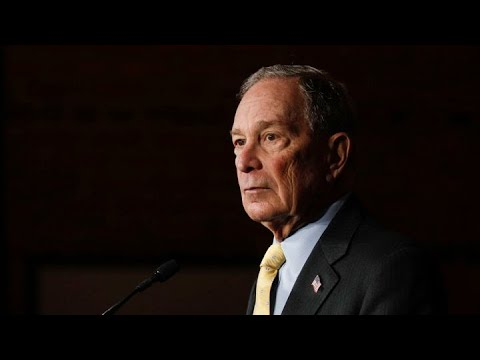Presidential Candidate Mike Bloomberg, From YouTubeVideos