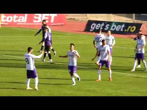 Reușită Cătălin Barbu în FC Argeș - Poli Timișoara 5-0