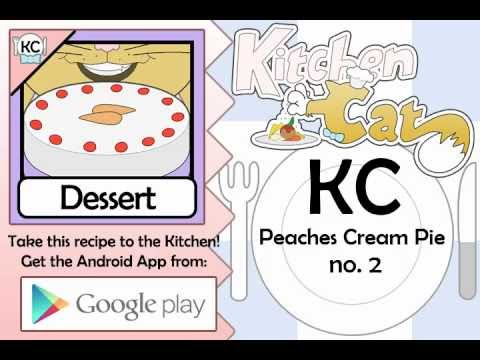 Peaches Cream Pie no. 2 - Kitchen Cat