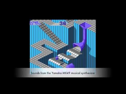 Yamaha MX49 music synthesizer Marble Madness Remix