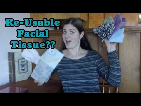 Re-Useable Alternatives for Facial Tissue