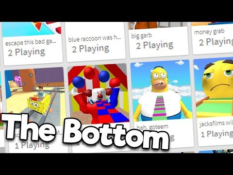 The Bottom of The Front Page (Roblox)