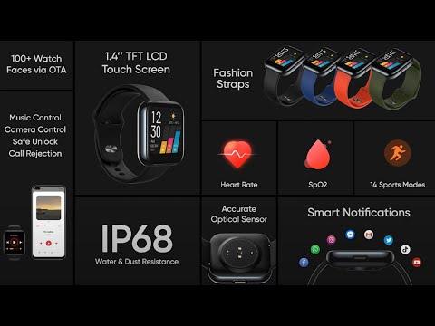 Realme представили свои часы Realme Watch за 50 долларов
