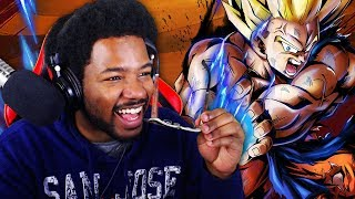 THIS DBZ GAME IS HIGH QUALITY HEAT! (ONLINE) Dragon Ball Legends GAMEPLAY! First Impressions