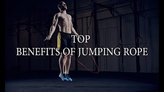 TOP BENEFITS OF JUMPING ROPE