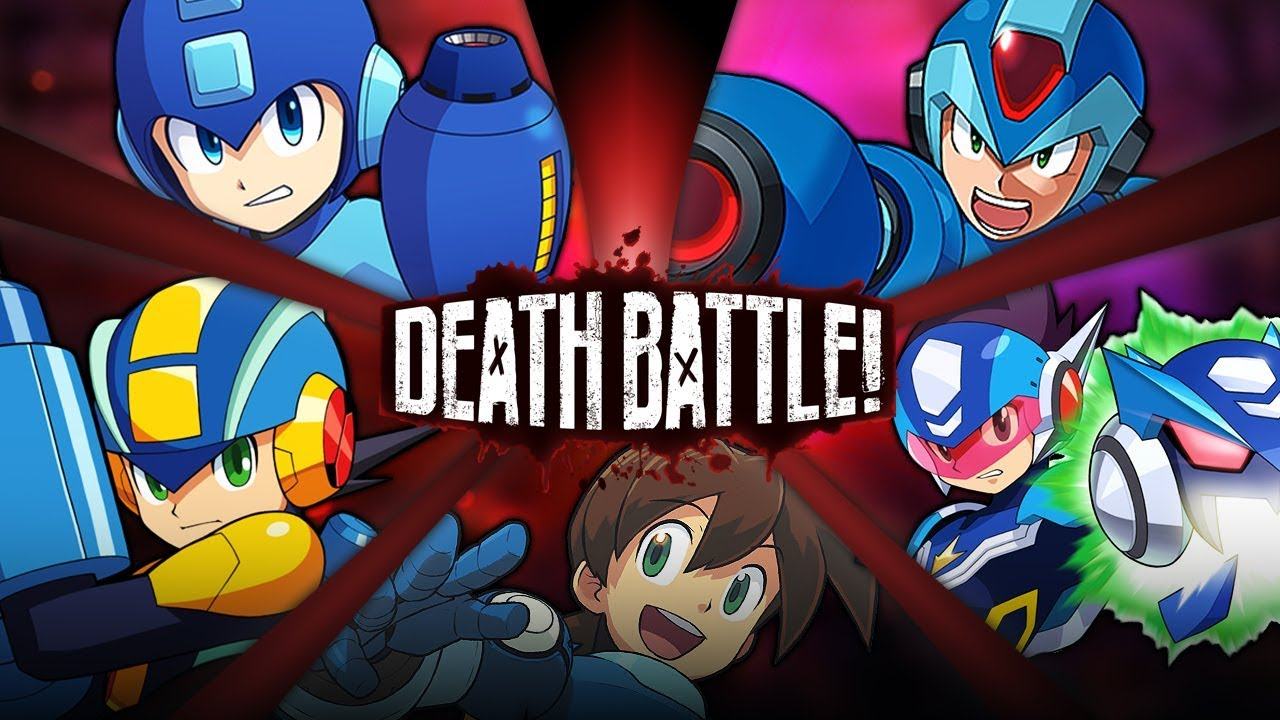 Mega Man Battle Royale | DEATH BATTLE!