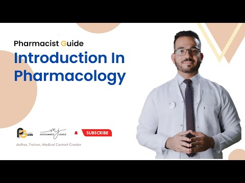 Pharmacist Guide (1) - Introduction In Pharmacology