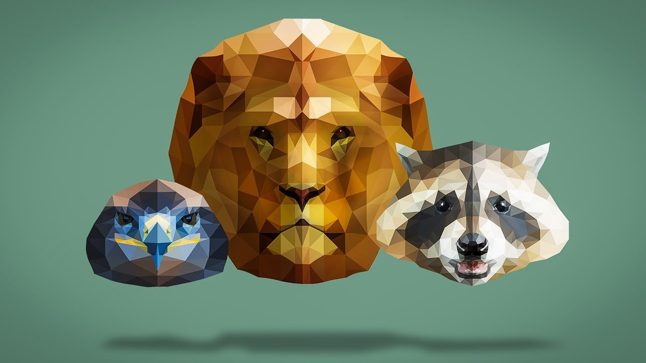 How to Create a Low Polygon Portrait in Photoshop