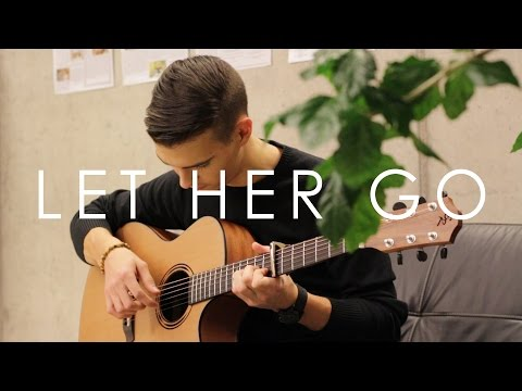 Let Her Go - Passenger (Fingerstyle Guitar Cover by Vadim Kobal) Free Tabs