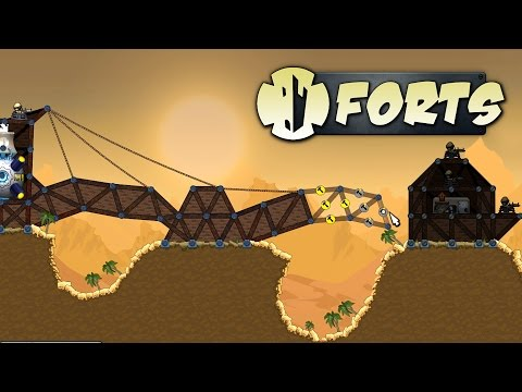 Forts - The Quest for Oil! - Let's Play Forts Campaign Gameplay