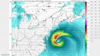 Hermine What to Expect GFS Model Analysis Tide Forecast 09042016