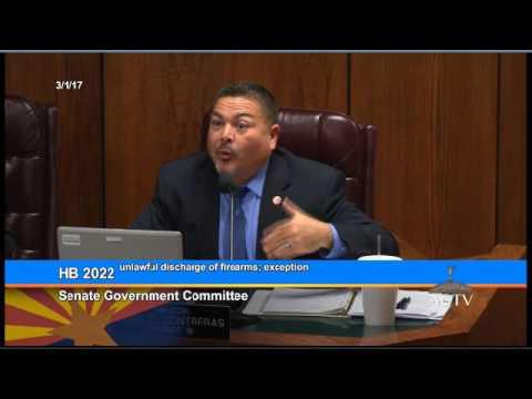 AZ Senate Government Committee Hearing: HB 2022