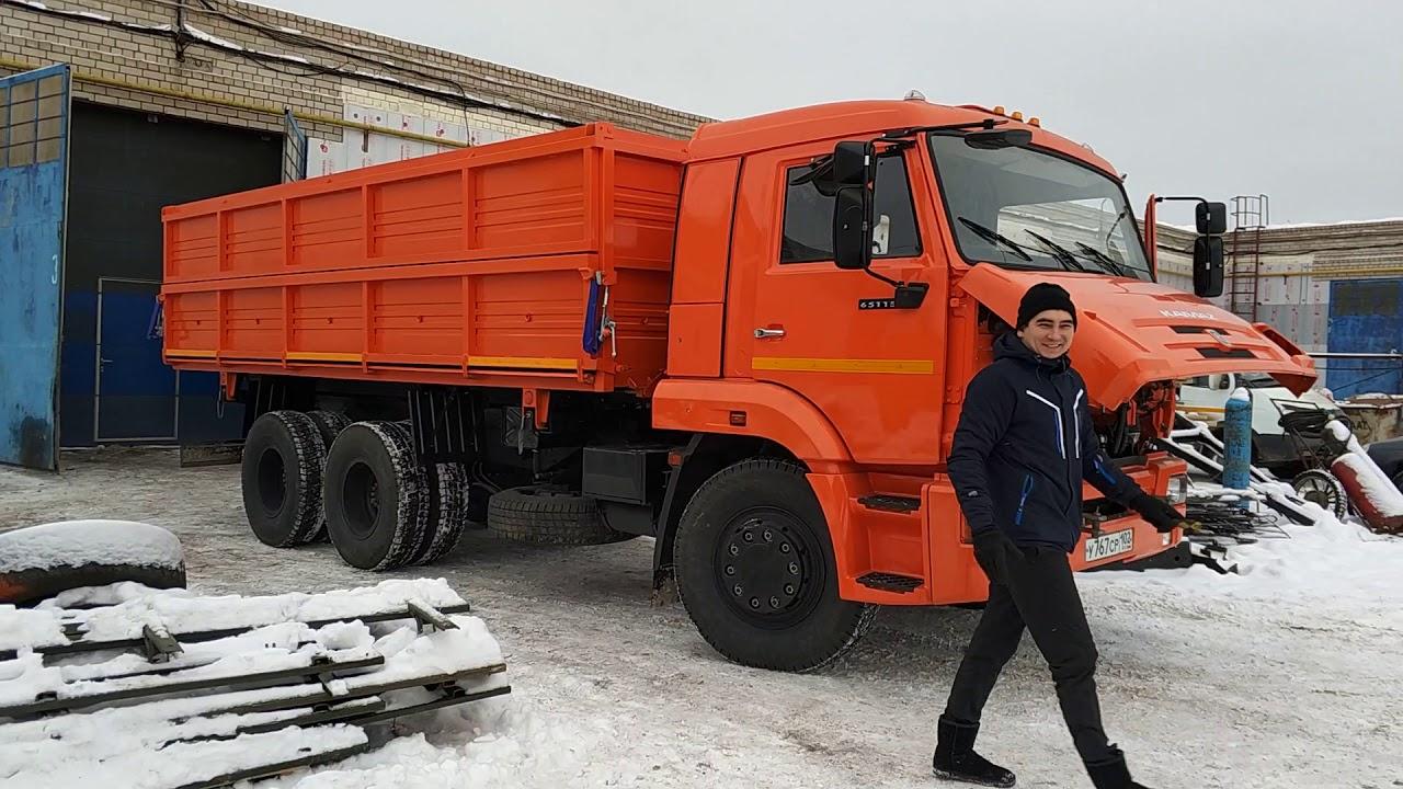 КАМАЗ-65111 против ЗИЛ-131 - битва автомобилей - YouTube
