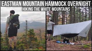Hammock Overnight | Hiking Eastman Mountain | Hiking the White Mountains of New Hampshire