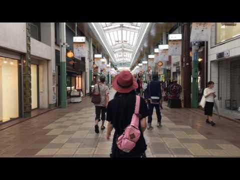 DJI OSMO Mobile: Faster Walk in Teramachi Street, Kyoto