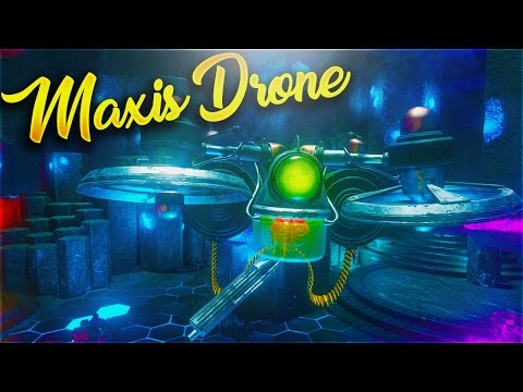 HOW TO BUILD THE MAXIS DRONE - All Maxis Drone Part Locations (ZOMBIES CHRONICLES ORIGINS)