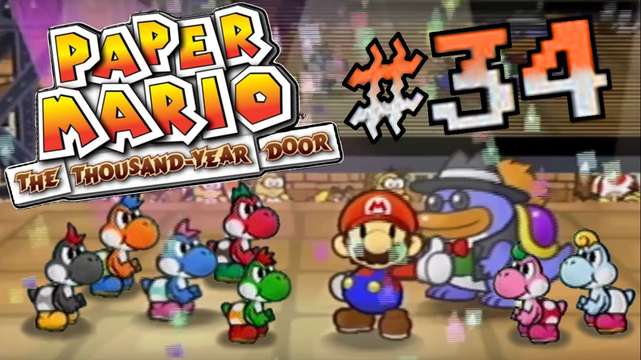 Paper mario the thousand year door yoshi 39 s for everyone for 1000 year door