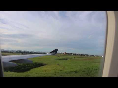 Landing at Nadi International Airport, Fiji