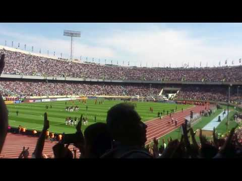 Azadi Stadium- Iran Vs China- Asian Qualifiers FIFA World Cup (chants of 'huh' )