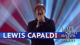 Gambar cover Lewis Capaldi Performs 'Someone You Loved'