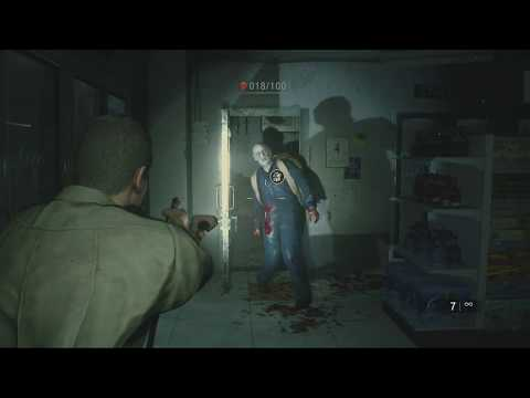 PS4 RE2 Hell Of A Sheriff Trophy (No Way Out - 100 Kills)