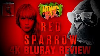 Red Sparrow 4K Bluray Review I HDR10 I Atmos