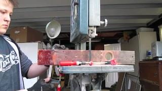Milling Small Logs On The Bandsaw