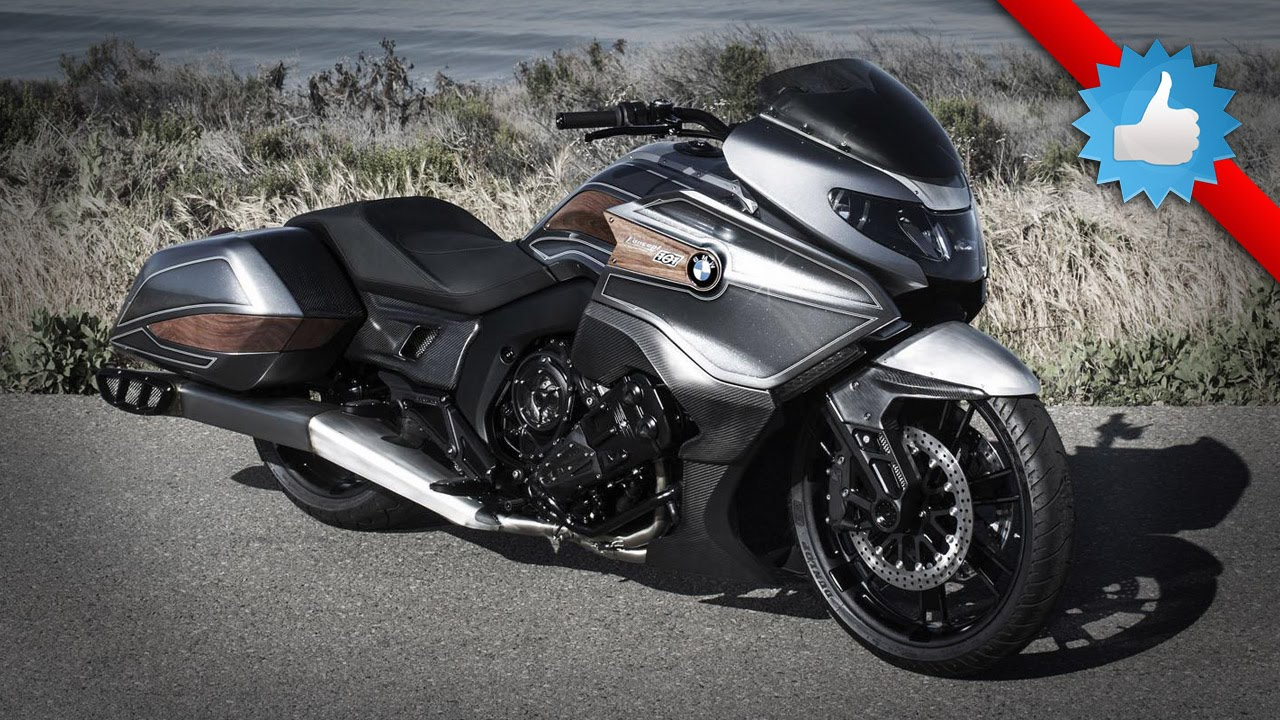 2016 bmw motorrad concept 101: bagger style - youtube