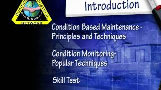 Condition Based Maintenance Training