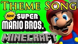 Super Mario Bros Theme Song - Minecraft Note Blocks ♫