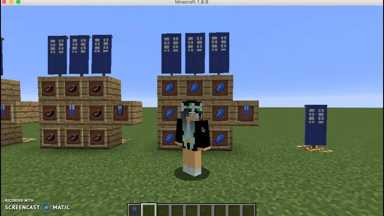How to make the tardis banner youtube for How do you start building a house