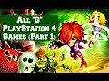 "All ""G"" PlayStation 4 Games (Part 1) PS4 Video Games List"