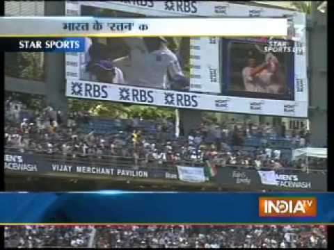 Sachin Tendulkar, first cricketer to get Bharat Ratna