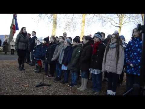 Chartres : Cérémonie en hommage aux morts pour la France de la guerre d'Algérie