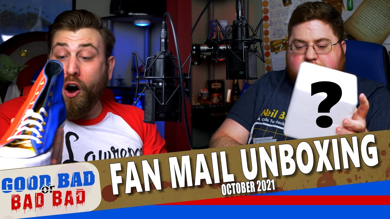 Fan Mail Unboxing - October 2021