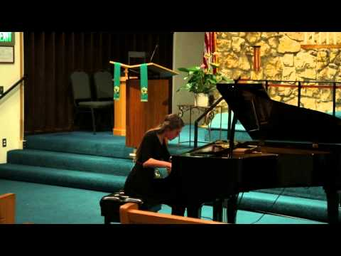 Bellingham Music Club Piano Auditions: Flannery Youngblood, 2nd Place Winner