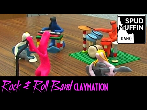Boston's Rock and Roll Band - Claymation Music Video