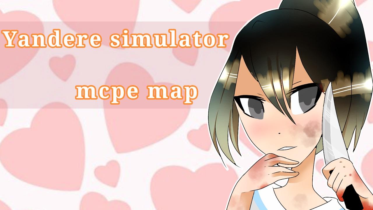 Yandere Simulator MCPE Map Download Below YouTube - Skin para minecraft pe yandere