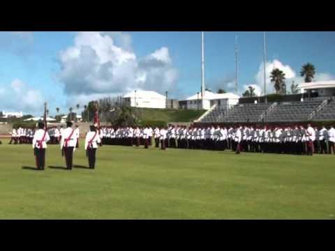 #3: Bermuda Regiment Colours Presentation